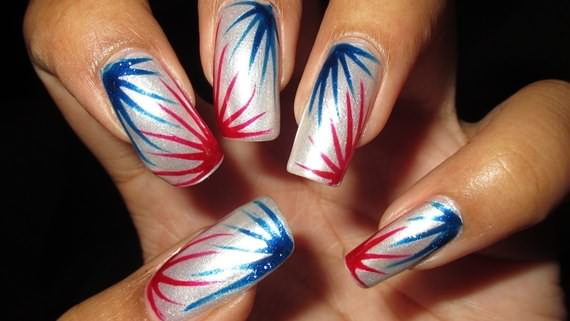 4th of july nail art design ideas 4 ur break family fourth of july celebration days so pinterest and this post might help you out to choose the perfect nail art design for the 4th of july occasion prinsesfo Images